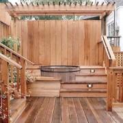 handsomely-furnished-full-wood-hot-tub